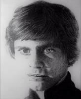 Luke Skywalker by chrisbaggott