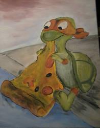 Turtle Painting by theturtlewalks