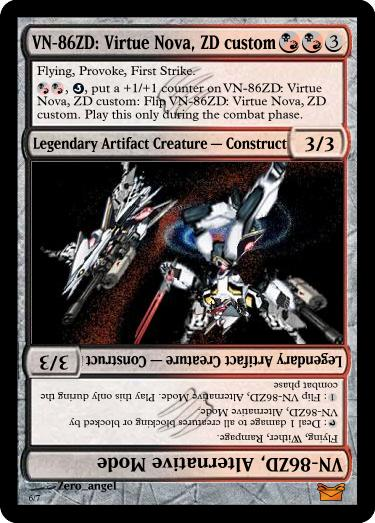 MTG Card: VN-86ZD by ZangelXIII on DeviantArt