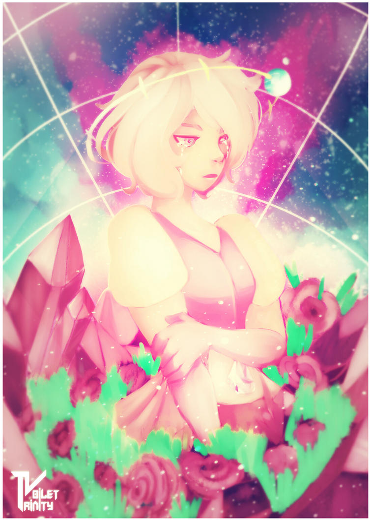 gonna say Pink diamond reminds me of my young bratty self XD
