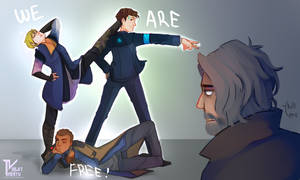 WE ARE FREE! by VioletTrinity