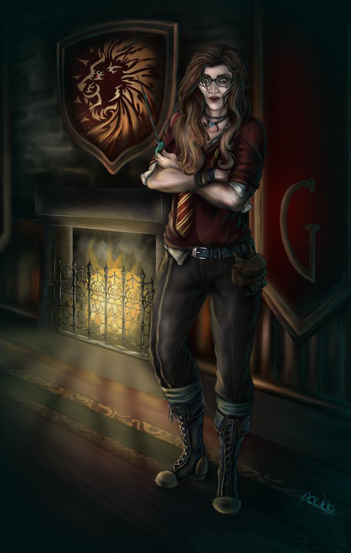 Liana (Harry Potter OC) by Pocido