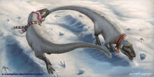 Nanuqsaurus' Winter Games