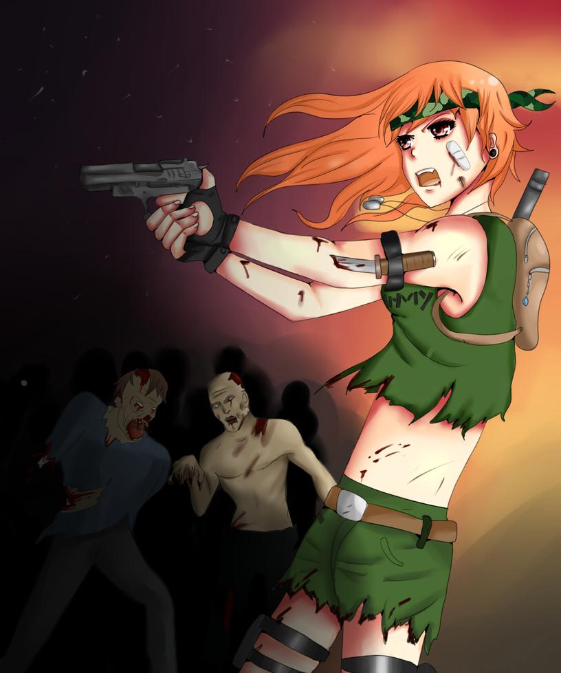 Zombie Slayer By Alexthezombie