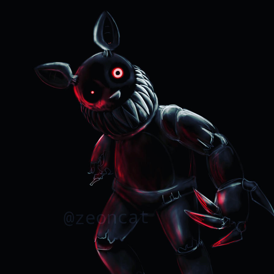 Shadow freddy fan art by Zeoncat