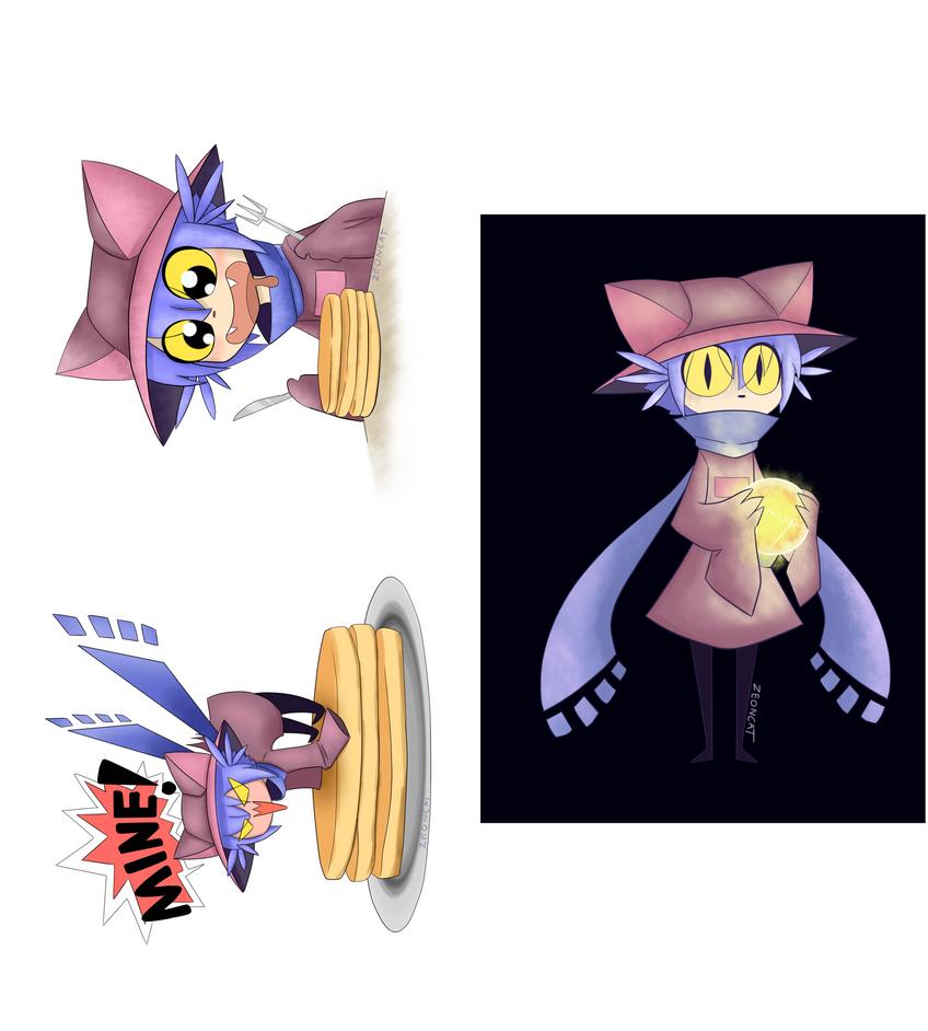 Nico Stikers by Zeoncat