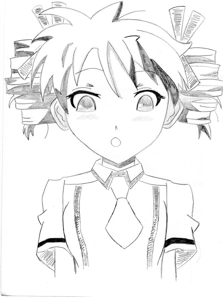 Baka and Test: Miharu by azuregundam