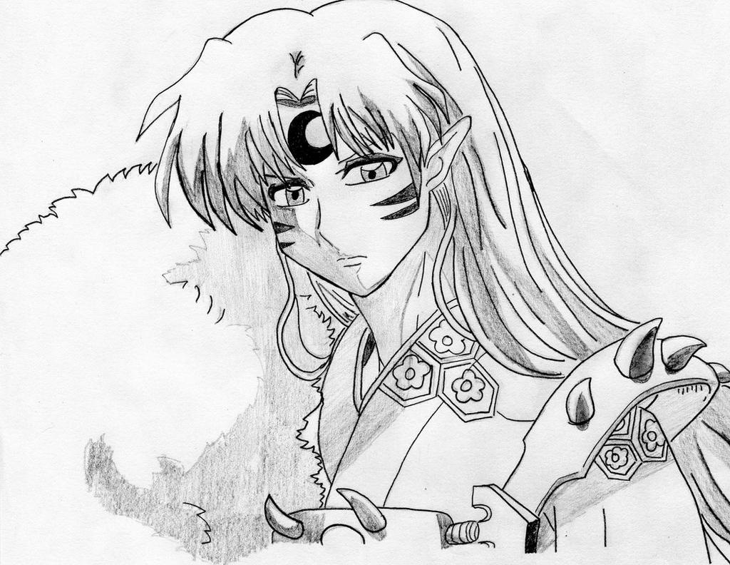 Inuyasha: Sesshomaru by azuregundam