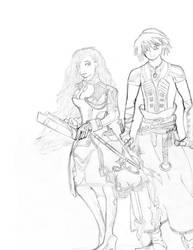 Final Fantasy 13-2 by azuregundam