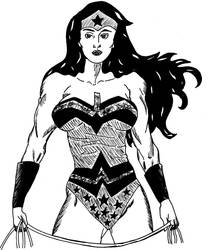 Wonder Woman by azuregundam