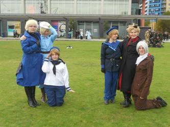 HETALIA -Happy Nordic families by MellowShark
