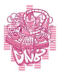 DnB Robot DJ