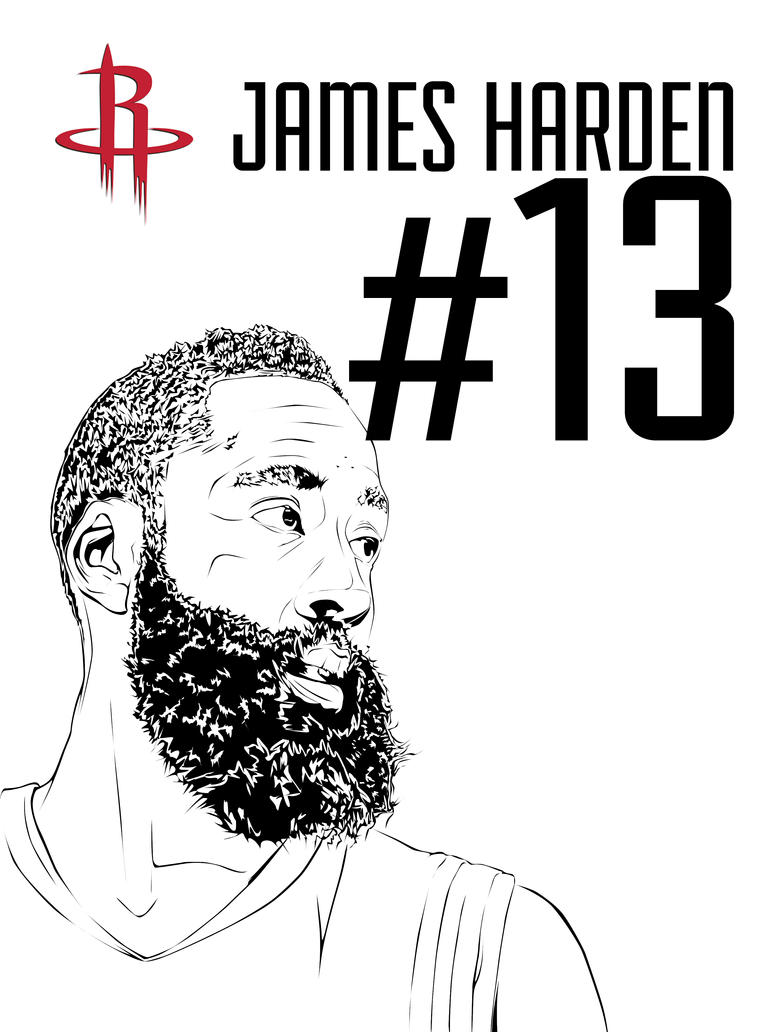 James Harden by daartist0490