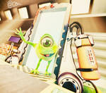 Monster, Inc. by conique2001