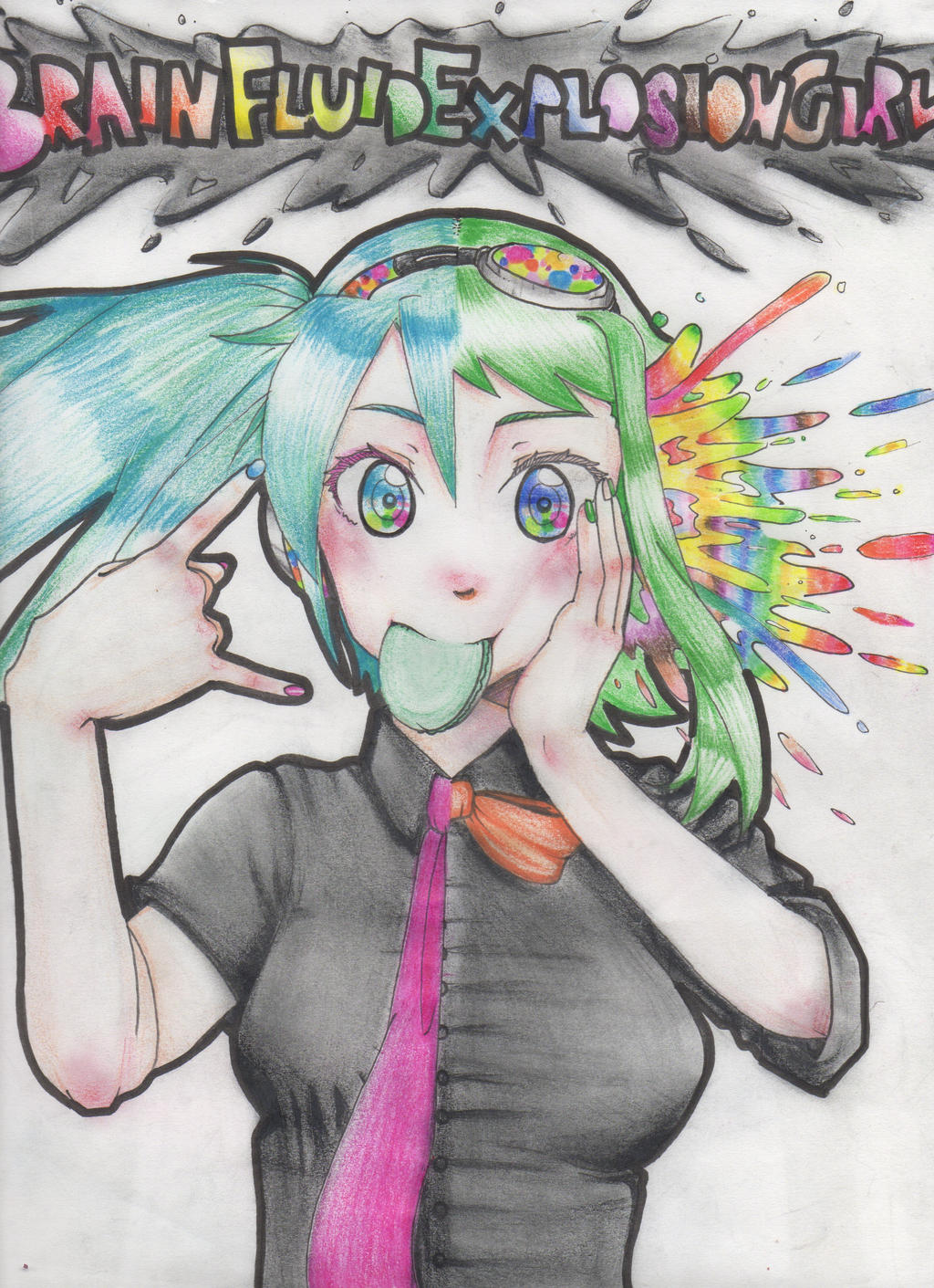 Brain Fluid Explosion Girl by GMPGunso