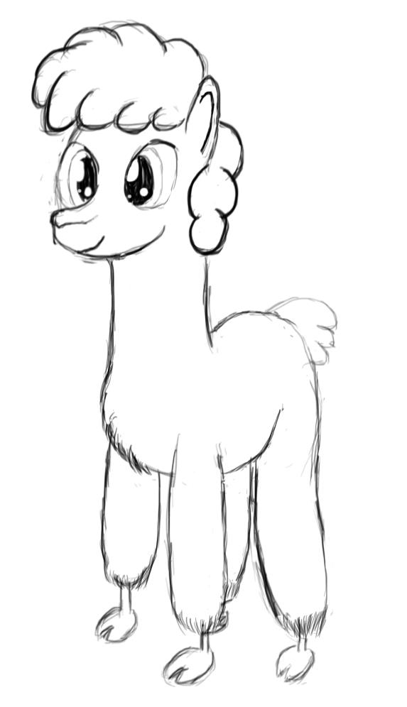Llama by SunDaw