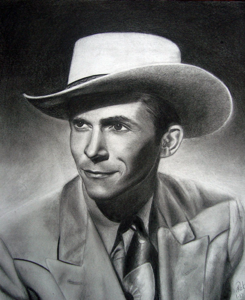 HANK WILLIAMS by dreerose