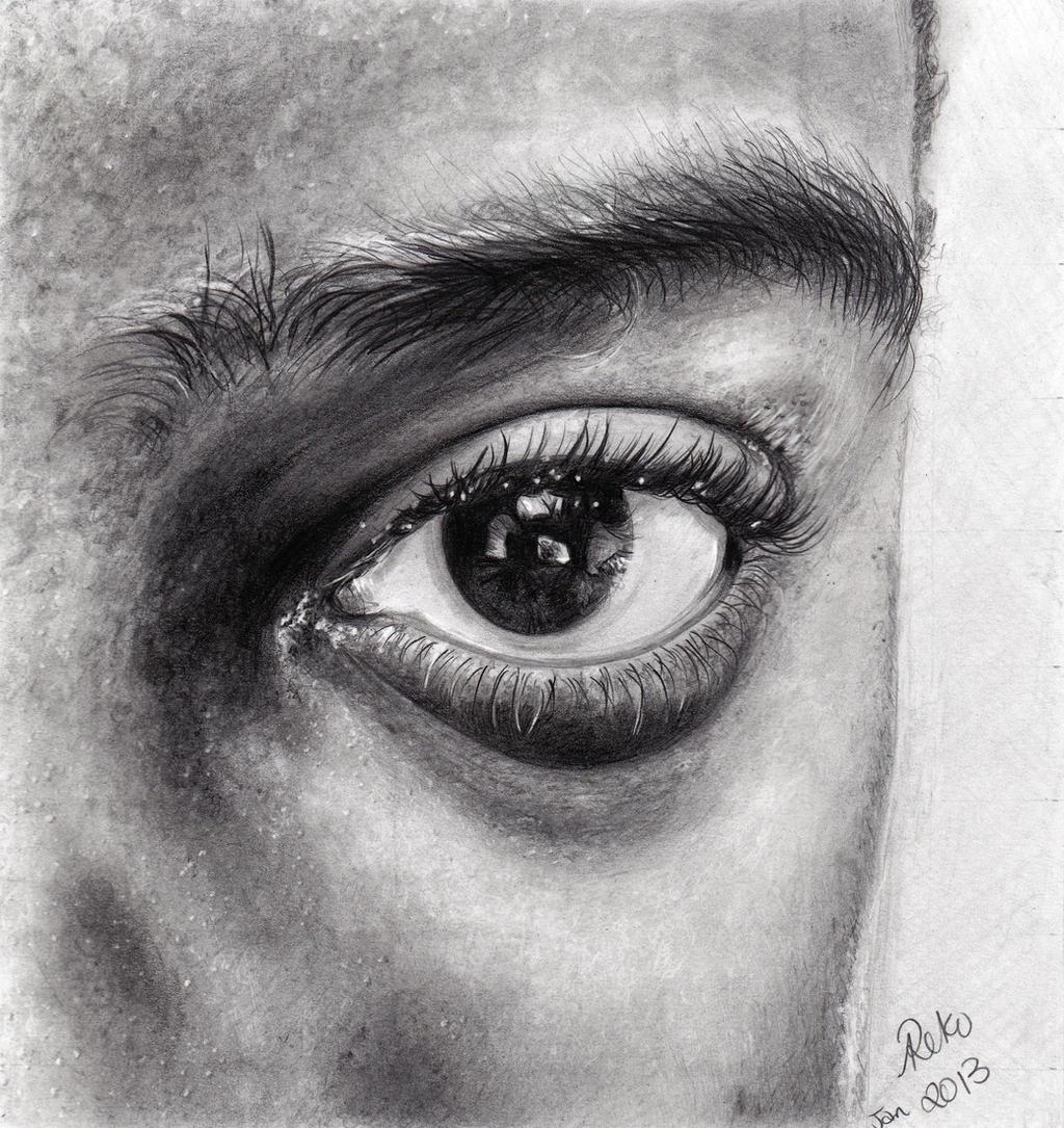 Eyeball by dreerose