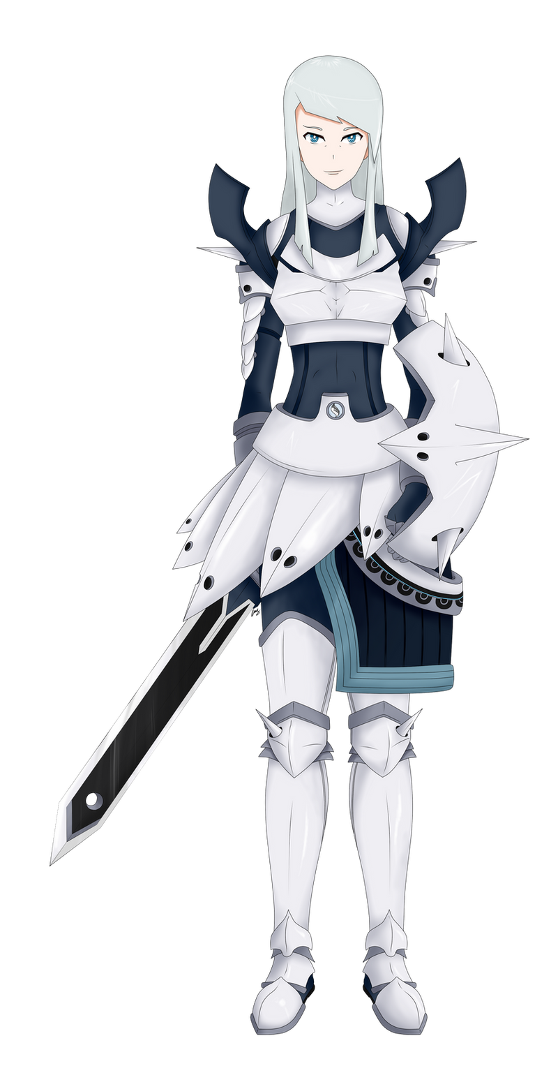 Mega Aggron Gijinka by kiket20 on DeviantArt