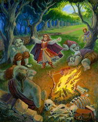 Ella and the Ogres by cocokat