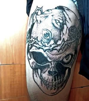 Berserk Skull Tattoo