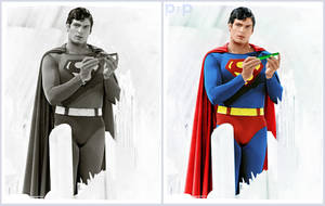 Christopher Reeve Colourised by P2Pproductions