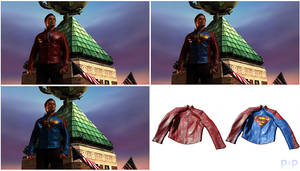 Smallville Blur Shield Jacket by P2Pproductions