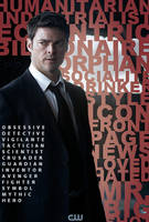 Karl Urban Batman TV Series - Fan Poster by P2Pproductions