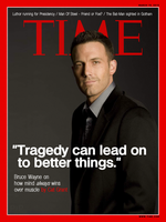 Batman V Superman - Bruce Wayne Time Magazine by P2Pproductions