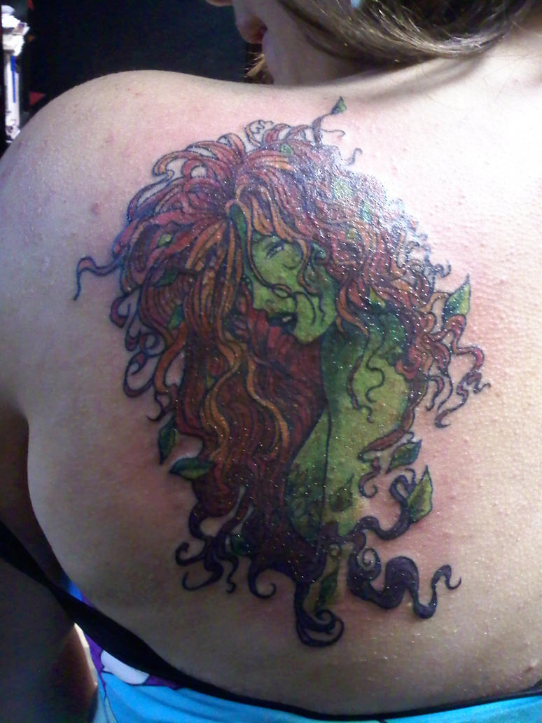Poison Ivy Tattoo by morgoththeone