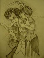 Sweeney Todd sketch by morgoththeone
