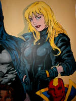 Wall Mural Black Canary by morgoththeone