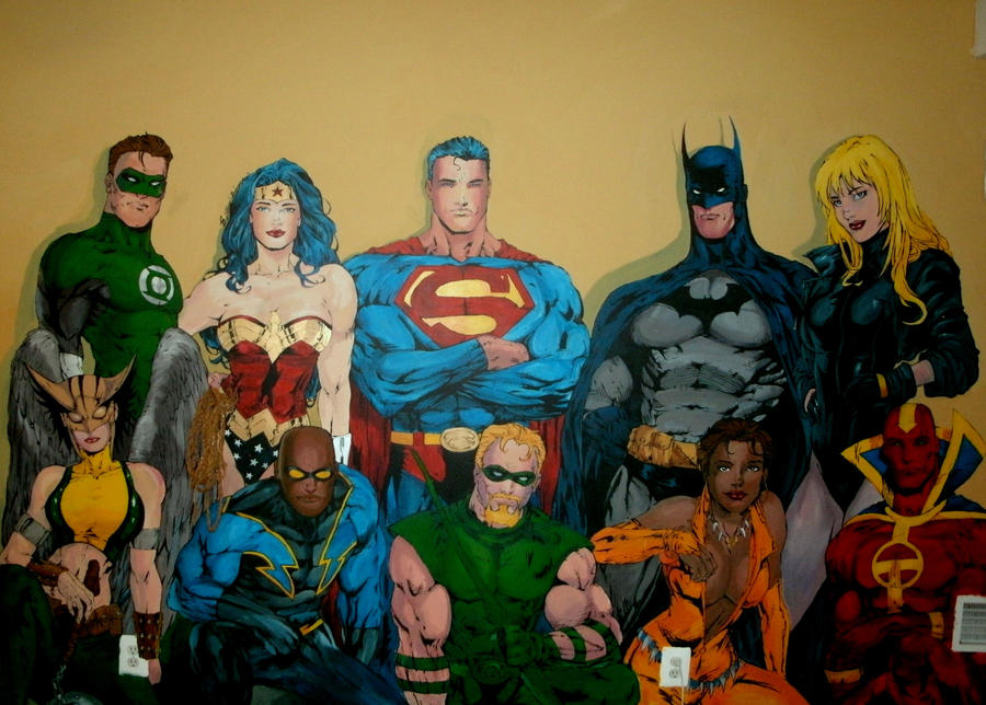 Wall Mural Finished
