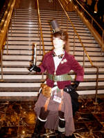 Steampunk Cosplay 3 by morgoththeone