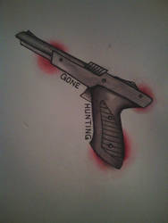 duck hunt tattoo flash by morgoththeone