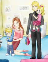 Ishida's Family by Andsi