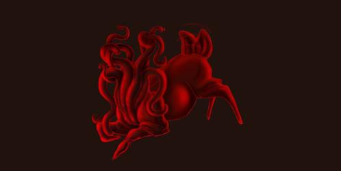 Bloat deer by CreatureGirl