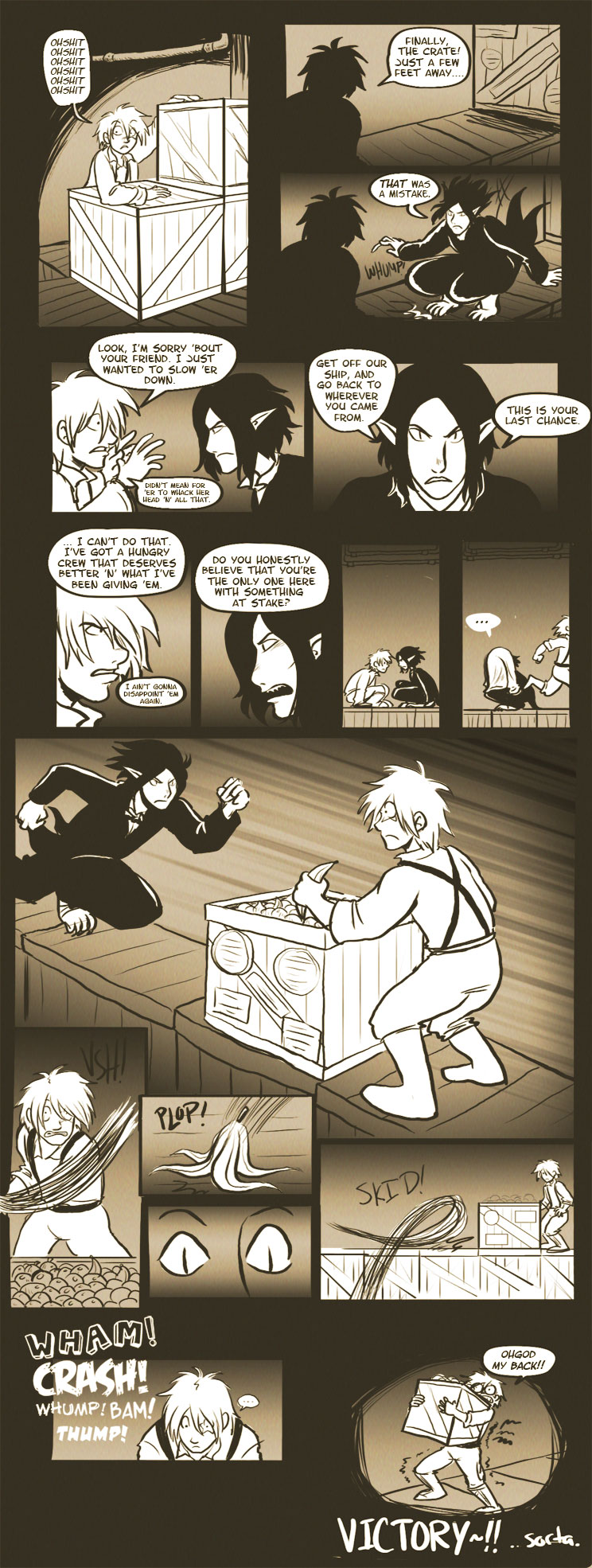 RS Comic, Round 1 - pgs 8-9 by sonopants
