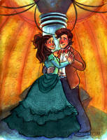 The Tardis Waltz - Commission by sonopants