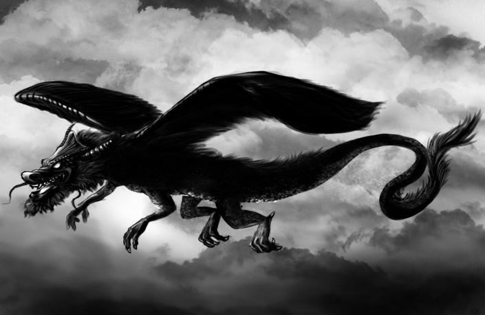 black dragon by yamuk