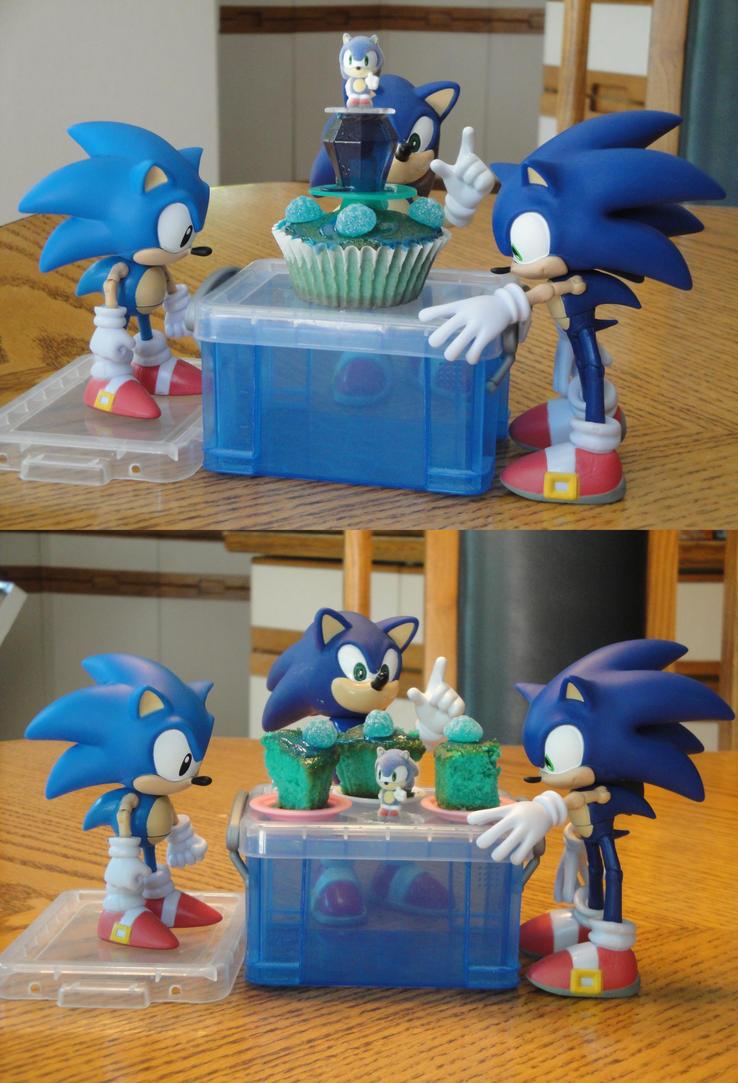Sonics 22nd Birthday Cake By Biancalligator On Deviantart