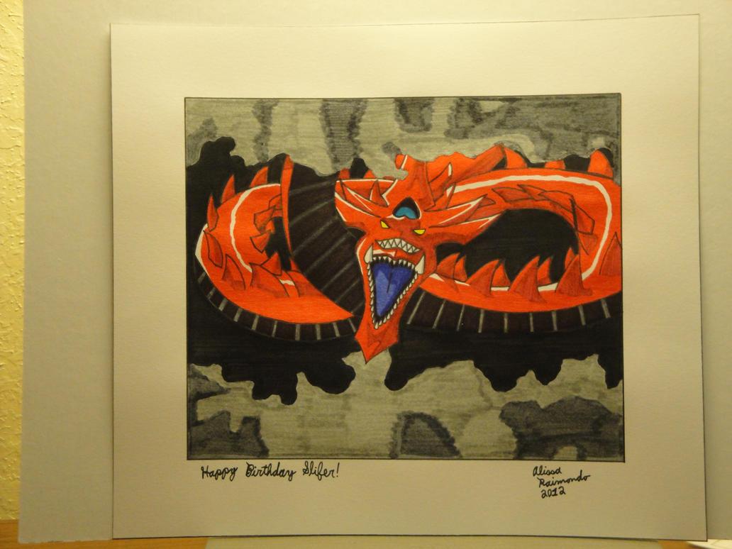 Happy Birthday slifertheskydragon! by BiancAlligator