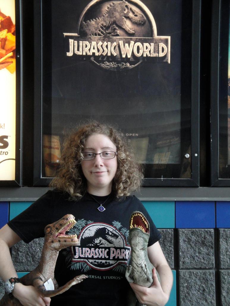 Jurassic World poster by BiancAlligator
