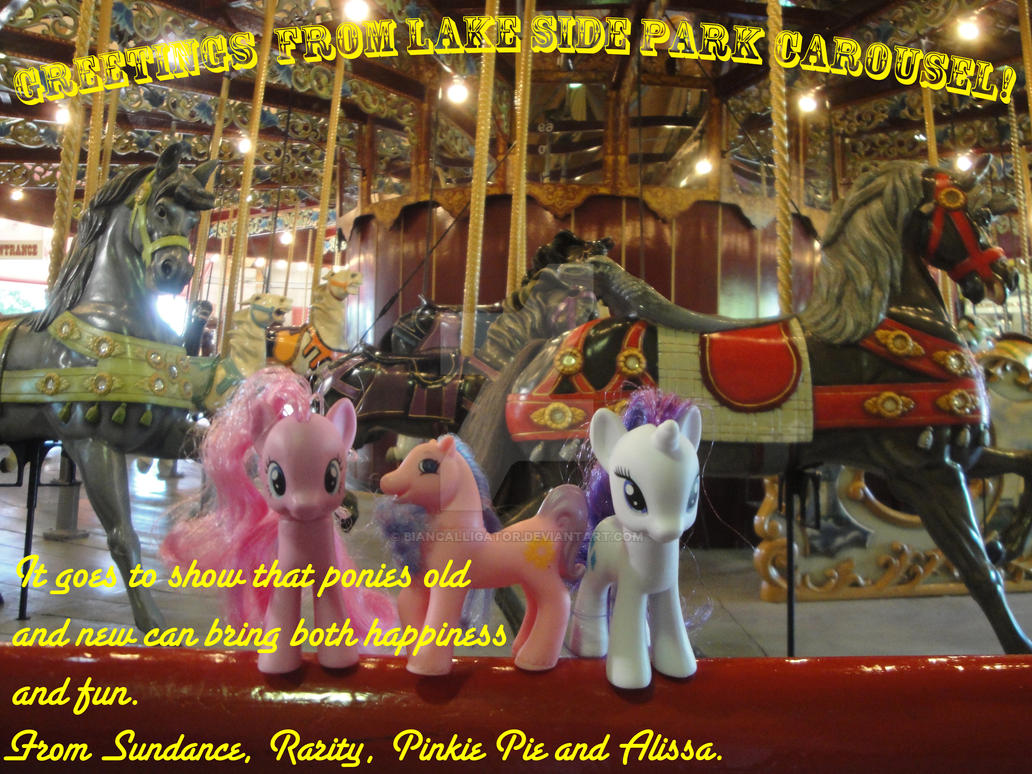 Ponies Around the World 2015- Port Dalhousie by BiancAlligator