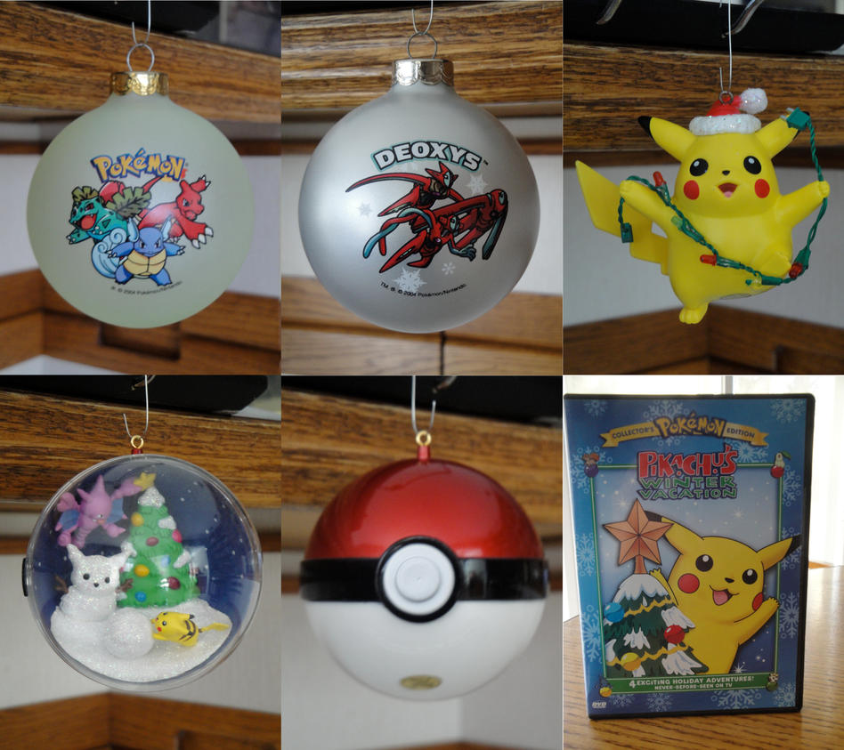 Pokemon Collection: Christmas part 1 by BiancAlligator