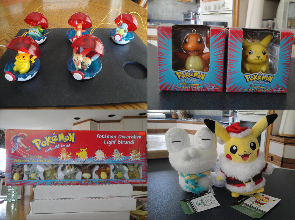 Pokemon Collection: Christmas part 2 by BiancAlligator