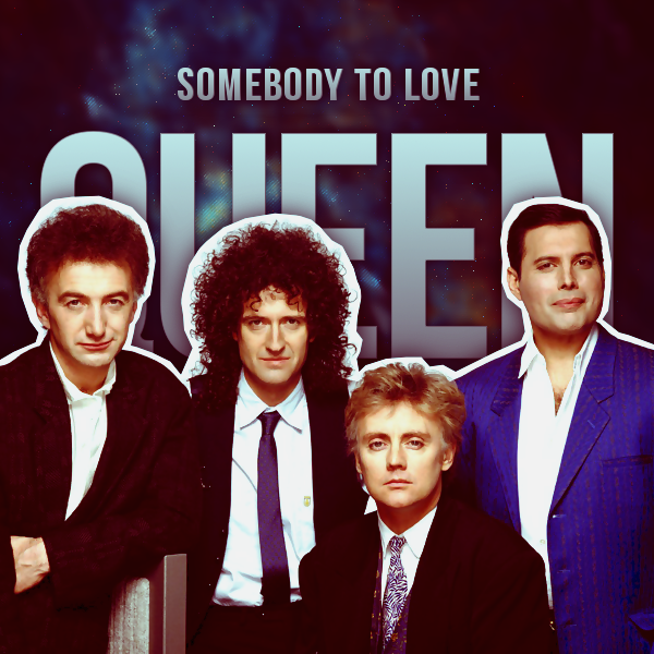 Queen Album Covers Somebody To Love - Que...