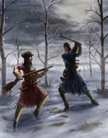 Battle of Lund - 1676 by Zorrentos