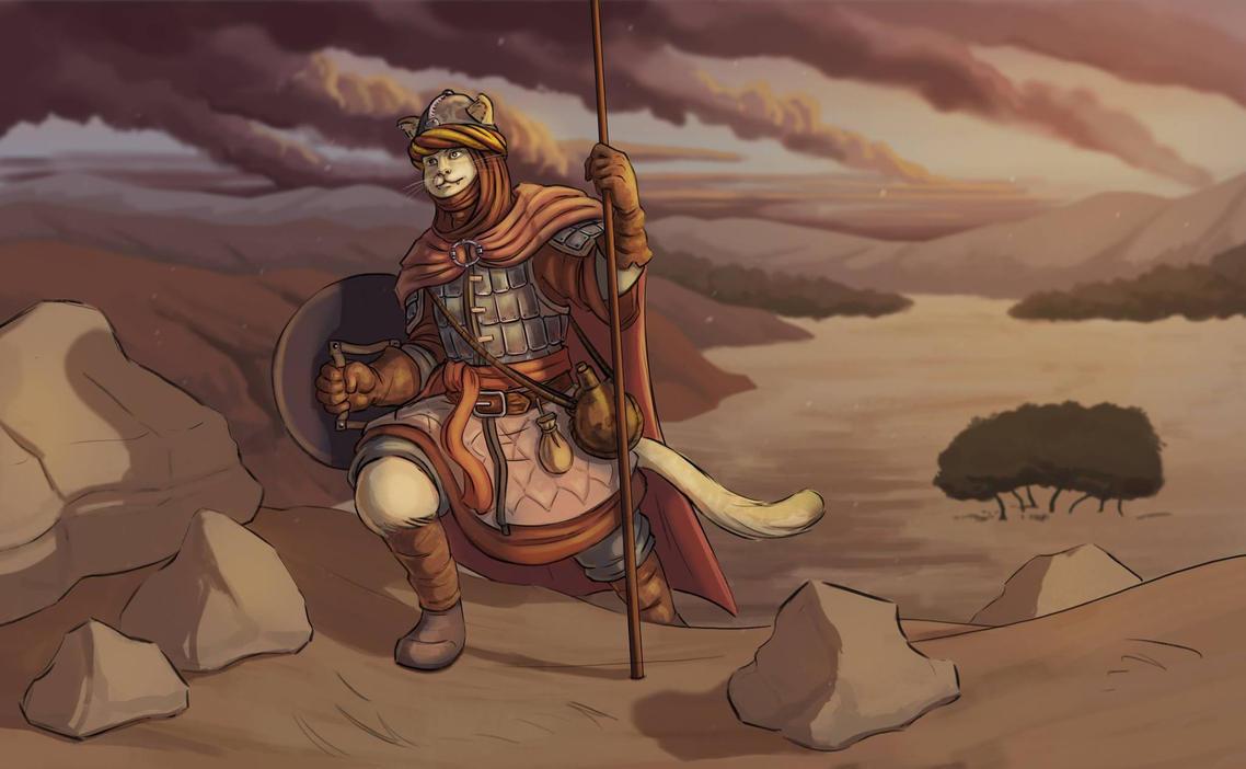 Desert Cat by Zorrentos