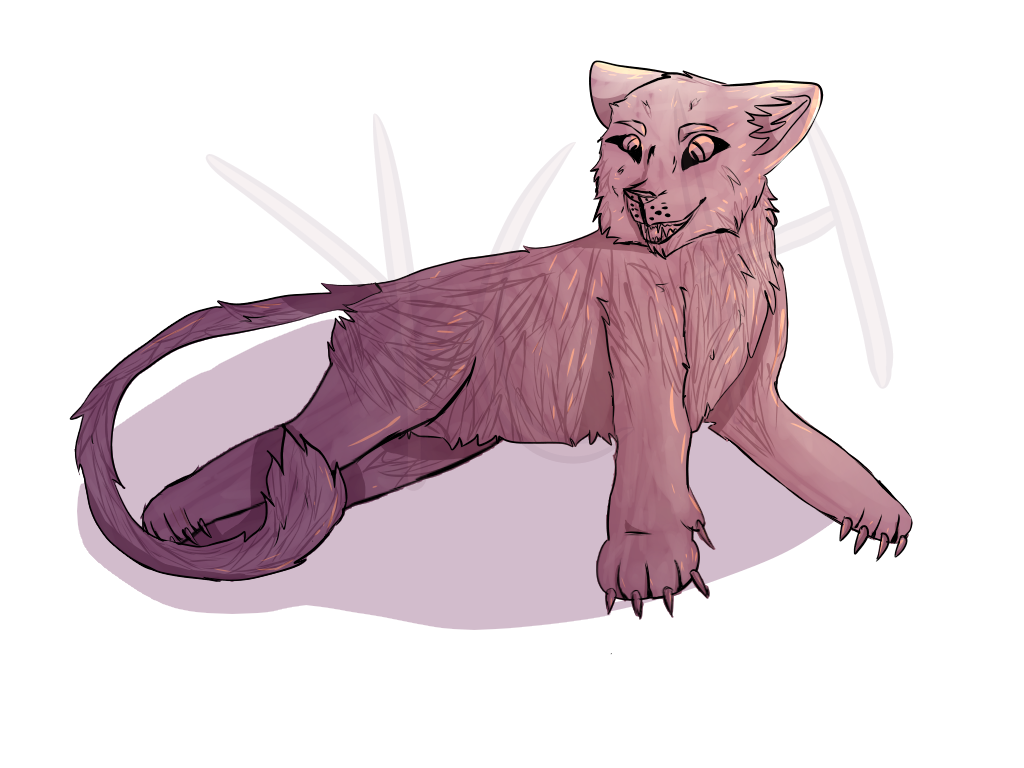 Lioness YCH 10pts by Momier-DaflyingWoof
